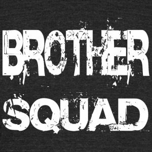 Brother Squad Team - Unisex Tri-Blend T-Shirt by American Apparel
