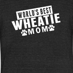 World's Best Wheatie Mom - Unisex Tri-Blend T-Shirt by American Apparel