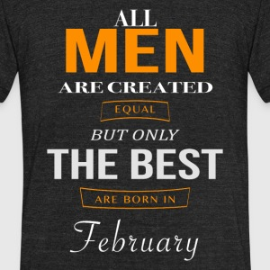February Birthday - Unisex Tri-Blend T-Shirt by American Apparel
