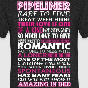Pipeliner Rare To Find Romantic Amazing To Bed - Unisex Tri-Blend T-Shirt by American Apparel
