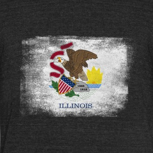Have No Fear Illinois Is Here - Unisex Tri-Blend T-Shirt by American Apparel