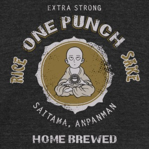 One Punch Picture - Unisex Tri-Blend T-Shirt by American Apparel