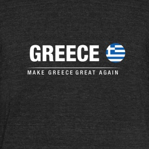Make Greece Great Again - Unisex Tri-Blend T-Shirt by American Apparel