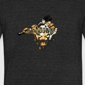 Hammer Down! - Unisex Tri-Blend T-Shirt by American Apparel