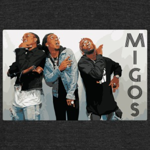 Migos - Unisex Tri-Blend T-Shirt by American Apparel