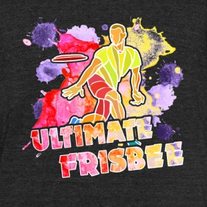 Ultimate Frisbee Tshirts - Unisex Tri-Blend T-Shirt by American Apparel