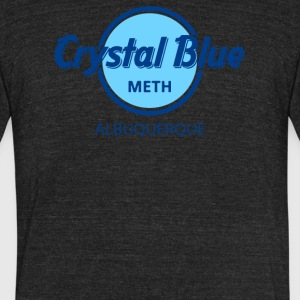 Crystal Blue Meth - Unisex Tri-Blend T-Shirt by American Apparel