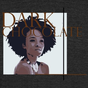 Dark Chocolate - Unisex Tri-Blend T-Shirt by American Apparel