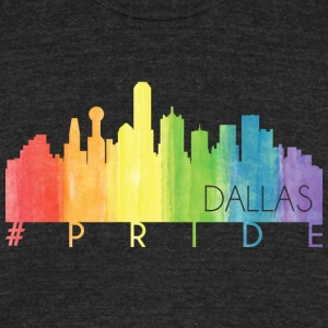 Dallas Pride - Unisex Tri-Blend T-Shirt by American Apparel
