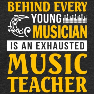 Music Teacher - Music Teacher T Shirt - Unisex Tri-Blend T-Shirt by American Apparel