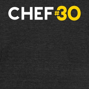 Chef - Golden State Basketball Fan: Chef #30 Cur - Unisex Tri-Blend T-Shirt by American Apparel