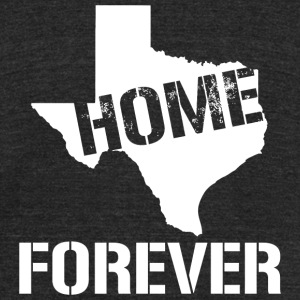 Home - Home Forever - Unisex Tri-Blend T-Shirt by American Apparel