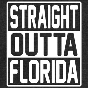 Florida - Straight Outta Florida, Retro Classic - Unisex Tri-Blend T-Shirt by American Apparel