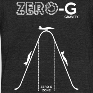 Zero Diagram - Zero Gravity Diagram - Unisex Tri-Blend T-Shirt by American Apparel