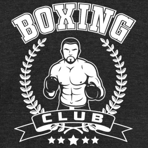 Boxing - Boxing Club - Unisex Tri-Blend T-Shirt by American Apparel
