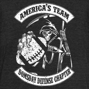 America's team - Doomsday defense chapter - Unisex Tri-Blend T-Shirt by American Apparel