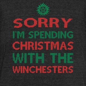 Winchesters Winchesters fan Sorry I m spendi - Unisex Tri-Blend T-Shirt by American Apparel