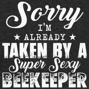 Beekeeper - I'm Already Taken By A Beekeeper T S - Unisex Tri-Blend T-Shirt by American Apparel