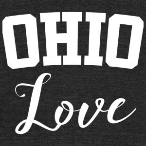 Ohio Ohio Love - Unisex Tri-Blend T-Shirt by American Apparel