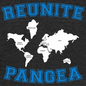 Reunite Pangea - Reunite Pangea - Unisex Tri-Blend T-Shirt by American Apparel