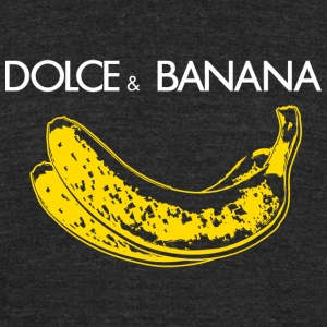 Banana - Dolce - Unisex Tri-Blend T-Shirt by American Apparel