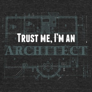 Architect - Architect tee hoodie sweatshirt - Unisex Tri-Blend T-Shirt by American Apparel