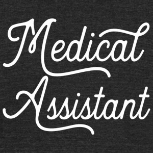 Medical - Medical Assistant Graduation Gift Med - Unisex Tri-Blend T-Shirt by American Apparel