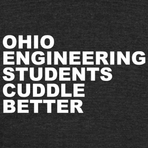 Engineering ohio engineering students cuddle b - Unisex Tri-Blend T-Shirt by American Apparel