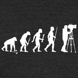 Cameraman - Evolution Of Cameraman - Unisex Tri-Blend T-Shirt by American Apparel