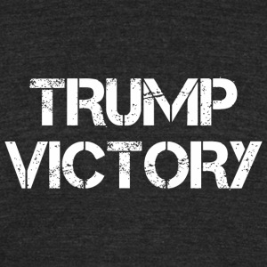 President trump - Trump Victory Shirt- Trump Win - Unisex Tri-Blend T-Shirt by American Apparel