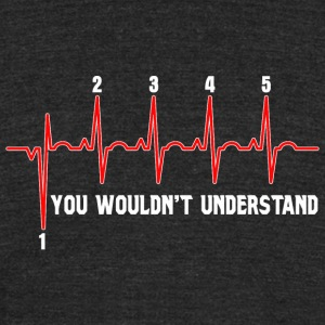 Motorcycle - Motorcycle Shirt - Heartbeat Motorc - Unisex Tri-Blend T-Shirt by American Apparel