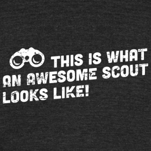 Scout - This is what an awesome scout looks like - Unisex Tri-Blend T-Shirt by American Apparel