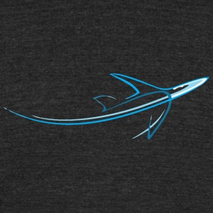 aeroplane - Unisex Tri-Blend T-Shirt by American Apparel