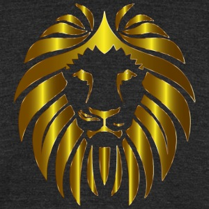 Prismatic Lion 10 No Background - Unisex Tri-Blend T-Shirt by American Apparel