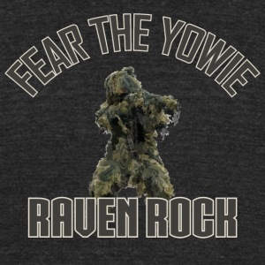 Fear the Yowie - Unisex Tri-Blend T-Shirt by American Apparel