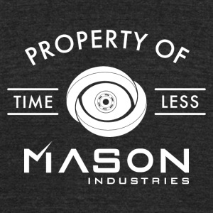 Timeless - Property Of Mason Industries - Unisex Tri-Blend T-Shirt by American Apparel