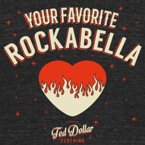 Your Favorite Rockabella - Unisex Tri-Blend T-Shirt by American Apparel