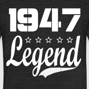 47 legend - Unisex Tri-Blend T-Shirt by American Apparel