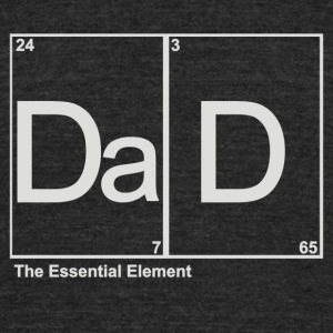 DAD ELEMENT - Unisex Tri-Blend T-Shirt by American Apparel