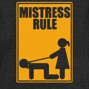 MISTRESS - Unisex Tri-Blend T-Shirt by American Apparel