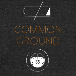 Common Ground - Unisex Tri-Blend T-Shirt by American Apparel