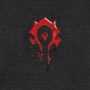 For the horde! - Unisex Tri-Blend T-Shirt by American Apparel