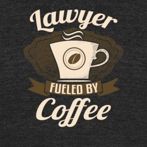 Lawyer Fueled By Coffee - Unisex Tri-Blend T-Shirt by American Apparel