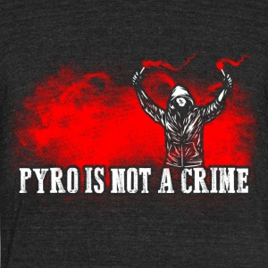 ACAB Pyro is not a crime - Unisex Tri-Blend T-Shirt by American Apparel