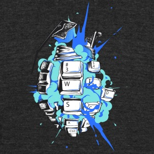 cyber explosion T Shirt - Unisex Tri-Blend T-Shirt by American Apparel