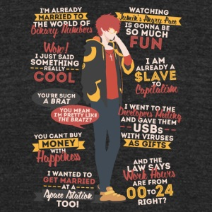 707 Quotes - Unisex Tri-Blend T-Shirt by American Apparel