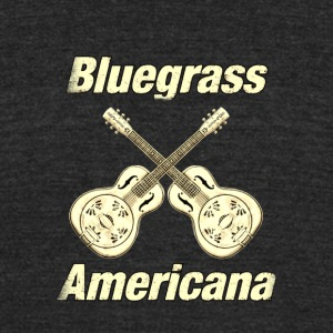 Bluegrass Americana - Unisex Tri-Blend T-Shirt by American Apparel