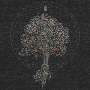 The Tree of Knowledge - Unisex Tri-Blend T-Shirt by American Apparel
