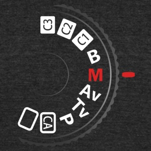 Manual mode - Unisex Tri-Blend T-Shirt by American Apparel
