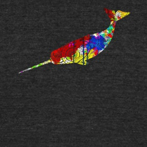 Narwhal Shirts - Unisex Tri-Blend T-Shirt by American Apparel